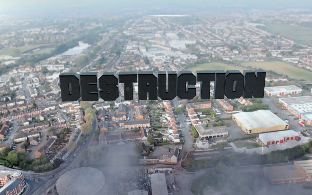 How to create destruction in After Effects.